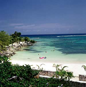 The beaches at Akumal, Mexico